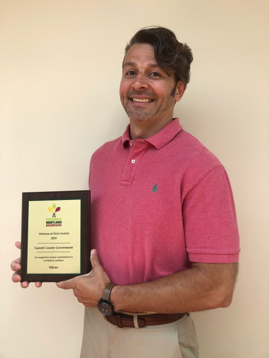 Garrett County Government Honored for Worksite Wellness