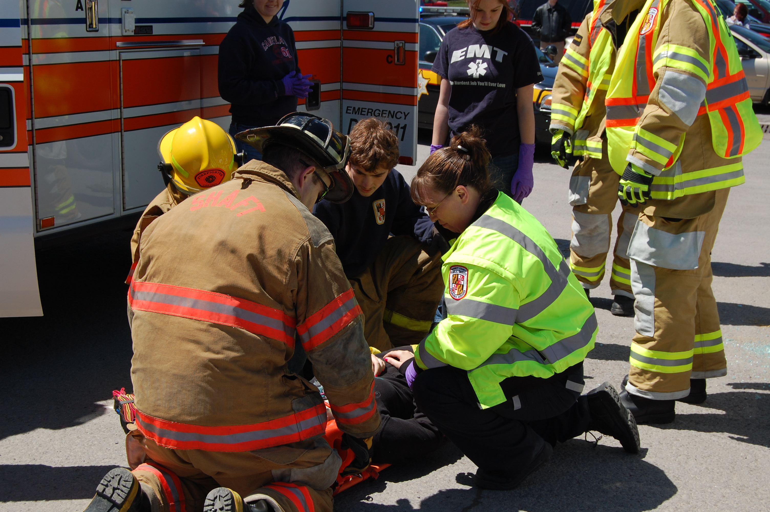high school emergency services clubs